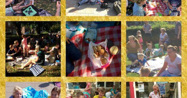Picknick met een gouden randje....