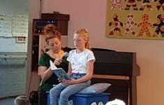 Winnares voorleeswedstrijd 2018: Daphne!