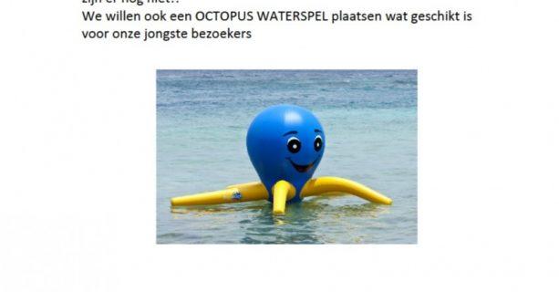 Doneert u ook voor dit octopus waterspel voor de Gendtse kinderen?